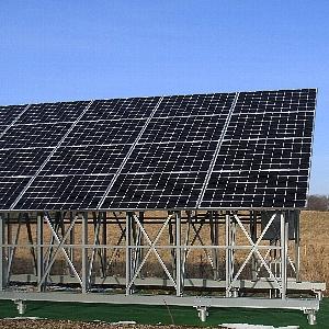 太陽光架台のイメージ